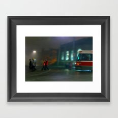 Follow Me Home Framed Art Print