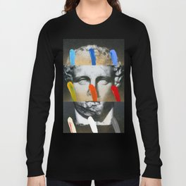 Composition On Panel 17 Long Sleeve T-shirt