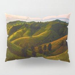 English Fairy Tale Rolling Green Hills Pillow Sham