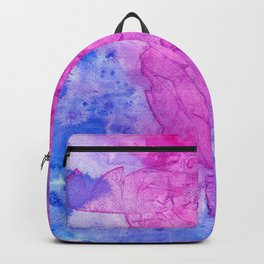 Stained Glass Pink Backpack