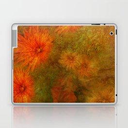 """Golden Manila Flowers"" Laptop & iPad Skin"