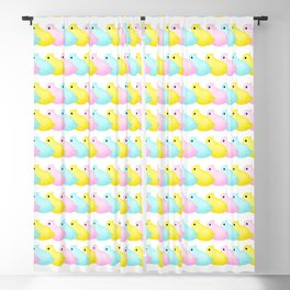 Peeps Pattern Blackout Curtain