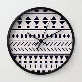 Nordic Pattern XXIX Wall Clock
