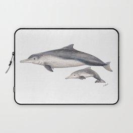 Australian humpback dolphin (Sousa sahulensis) with baby Laptop Sleeve