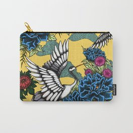Cranes (Blue) Carry-All Pouch