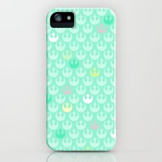 Rebel Alliance on Mint in Pastels Slim Case iPhone (5, 5s)