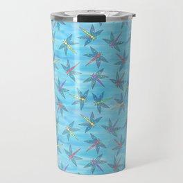 Sweet Dragonfly Skies Travel Mug