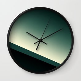 emerald line Wall Clock