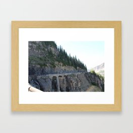 The Arches of Glacier Framed Art Print