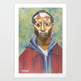 The Tribute Series-Kalief Browder Art Print