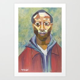 The Tribute Series-Kalief Browder Art Print