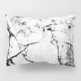 Marble Concrete Stone Texture Pattern Effect Dark Grain Pillow Sham