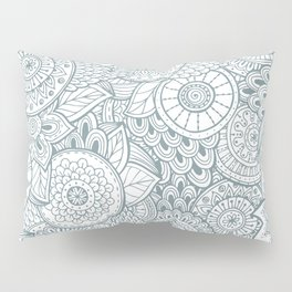 Abstract Floral Pattern Pillow Sham