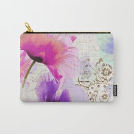 Poppies and Paint I Carry-All Pouch