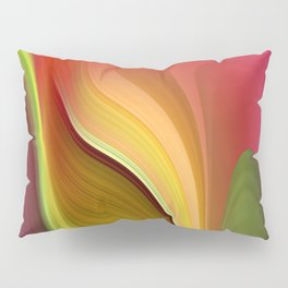 Tall And Short Colorful Abstract Pillow Sham