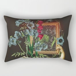 Florales Portrait Disaster Rectangular Pillow