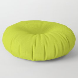Lime Peel Bright Green Solid Color Pairs To Sherwin Williams Center Stage SW 6920 Floor Pillow