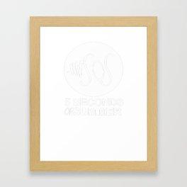 WHITE SUMMER 5 SOS T SHIRT MAROON TOP RUM WOMENS MENS MUSIC ONE DIRECTION WHITE Framed Art Print