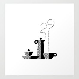 Coffee 29 Art Print