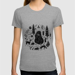 Yule, Birth of the Sun - Black T-shirt