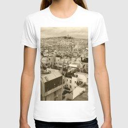 Rooftops of Paris 3 T-shirt