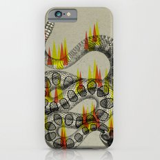 rattlesnake on fire! iPhone 6s Slim Case