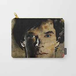 Cumberbatch as Sherlock Holmes Carry-All Pouch