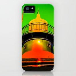 Lighthouse romance 100 iPhone Case