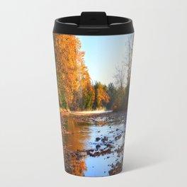 Salmon Sanctuary - Adams River BC, Canada Travel Mug