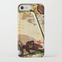 football iPhone & iPod Cases featuring Football by Robin Curtiss