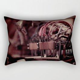 Inside a Pinball Machine No. 4 Rectangular Pillow