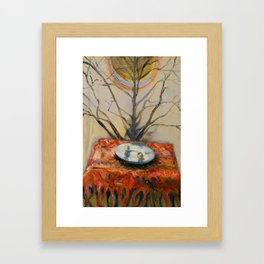 St. Lucy After Framed Art Print