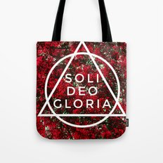 THE FIVE SOLAS: SOLI DEO GLORIA Tote Bag