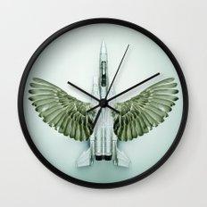 Mutant Plane Wall Clock