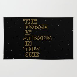 Use the Force! Rug