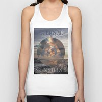 eternal sunshine Tank Tops featuring ETERNAL by ulas okuyucu
