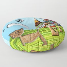 Bufão the Cat Floor Pillow