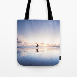 surfing serenity Tote Bag