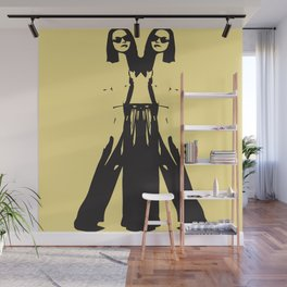 Double Vision Pants Wall Mural