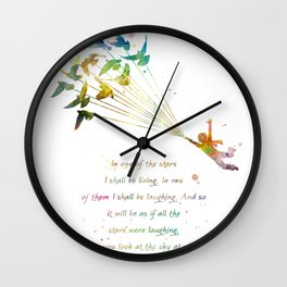 In one of the stars Wall Clock