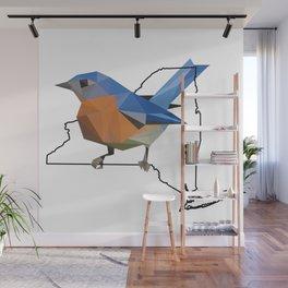 New York – Eastern Bluebird Wall Mural