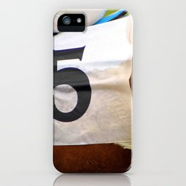 No 5 iPhone Case