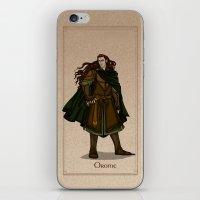 valar morghulis iPhone & iPod Skins featuring Orome by wolfanita