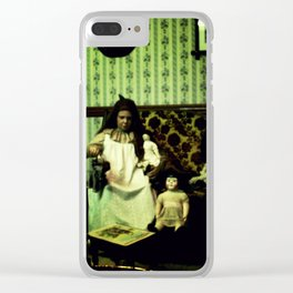 This is a Story of Fear and Anxiety Clear iPhone Case