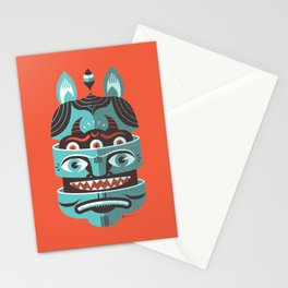 Head Open Stationery Cards