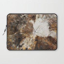 Tree Stump Ring Laptop Sleeve