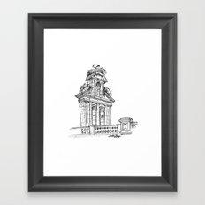 Bell gable Framed Art Print