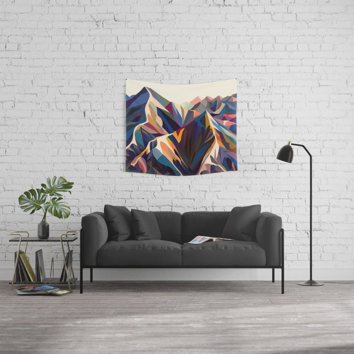 Mountains original Wall Tapestry