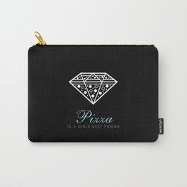 Pizza is a Girl's Best Friend (Diamond Supply Co) Carry-All Pouch