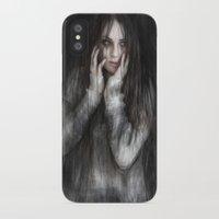 vampire diaries iPhone & iPod Cases featuring Vampire by Justin Gedak